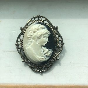 Beautiful cameo brooch